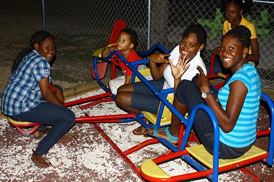 Playground At Tropical Treats Fun House Anguilla