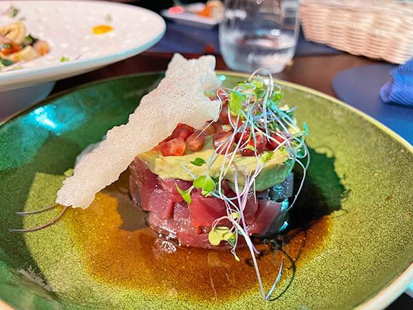 Tuna Tartare at Sublime Resto Bar