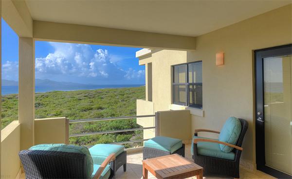 second floor balcony at moondance villa