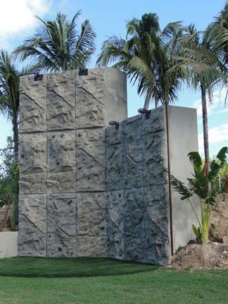 Viceroy Anguilla, sports complex, rock-climbing wall