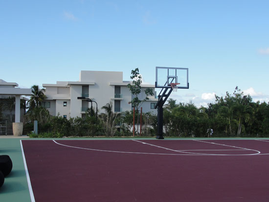 Viceroy Anguilla, sports complex, basketball court, NBA