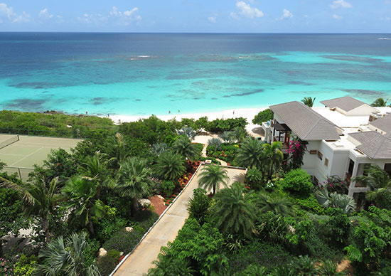 view from eastern penthouse at zemi beach house