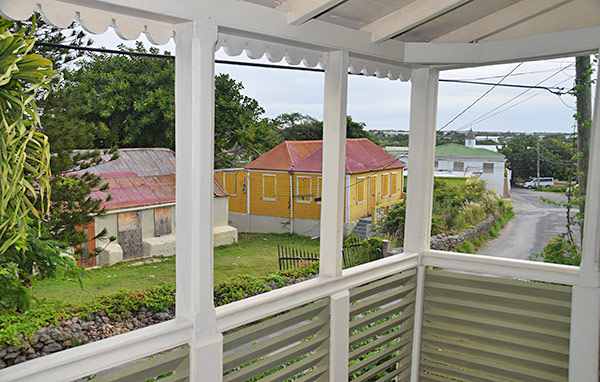 view from village bakehouse veranda