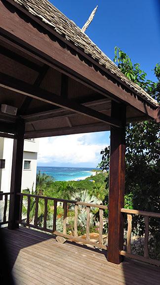 view from zemi beach thai spa