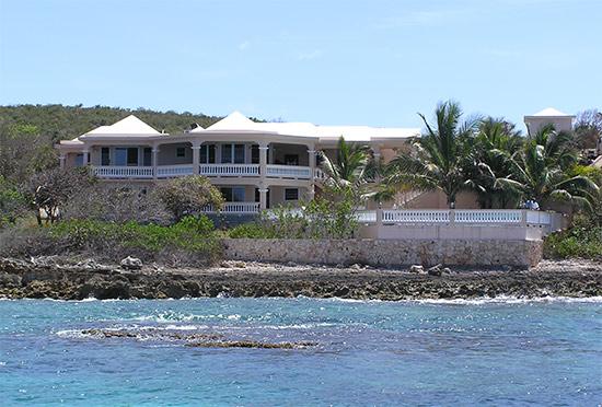 spacious anguilla villa on the searocks