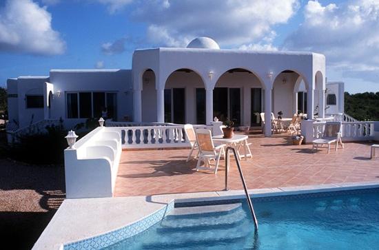 Anguilla villa rental villa eros