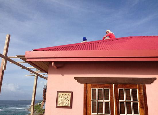 villa hibernia roof