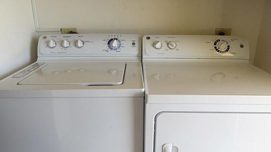 laundry room in villa kiki
