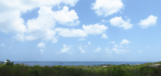 shoal bay view from villa kiki