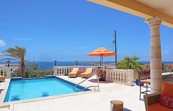 villa soleil pool from villa soleil anguilla