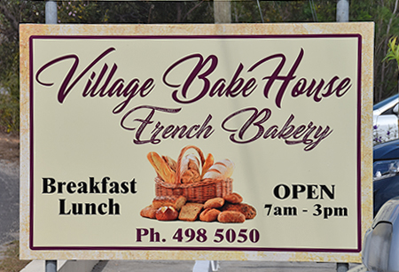 village bakehouse sign
