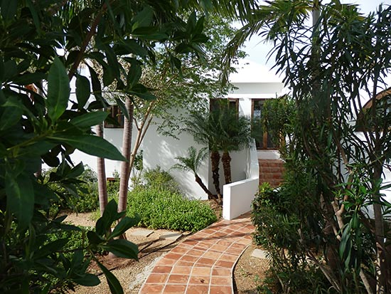 twin palms villa entrance anguilla