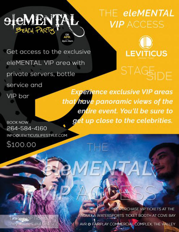 vip access at elemental