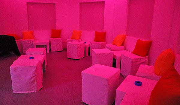 VIP room at IWASATTHEBAR