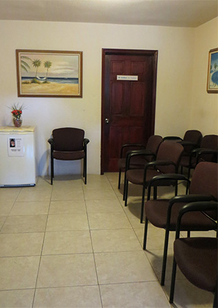 anguilla atlantic star medical waiting room