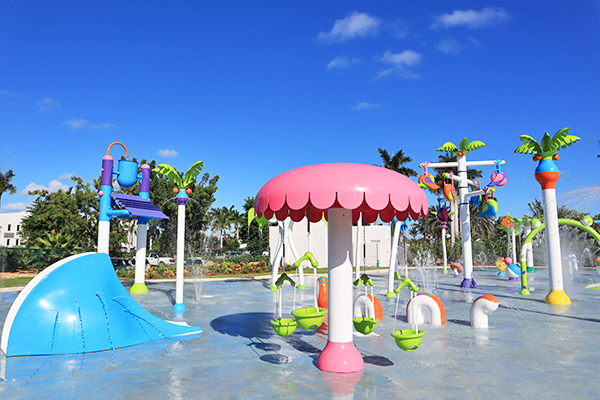Splash water park at CuisinArt Golf Resort & Spa