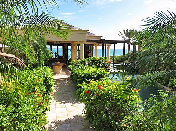 bird of paradise villa entrance