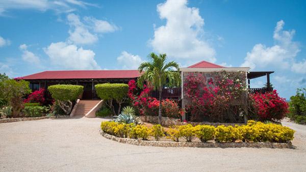 exterior of wesley house anguilla villa rental