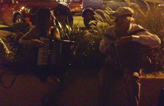 nighttime serenade at gustavia