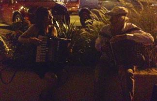 nighttime serenade at gustavia
