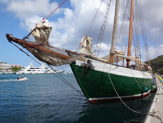 scaramouche at west indies regatta in st. barths