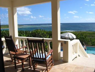 villas anguilla rental whale view