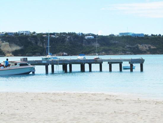 anguilla wharf sandy ground