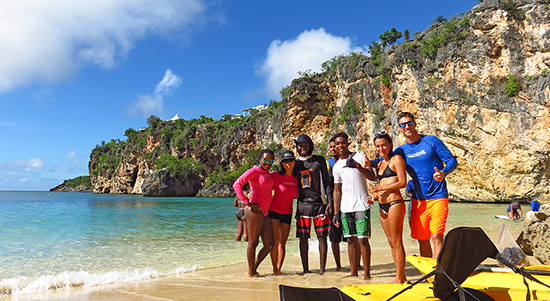 with anguilla watersports at little bay