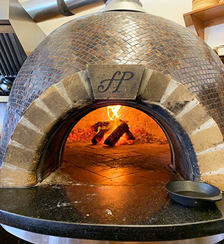 Fired Wood Oven ember