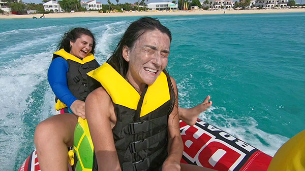 on board the dragon at 2extreem watersports
