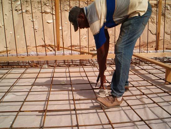 anguilla rebar work