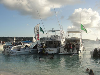 anguilla carnival boats anchored