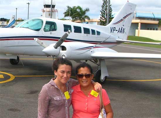 anguilla airport tarmac