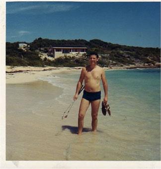 Anguilla Beach 1969