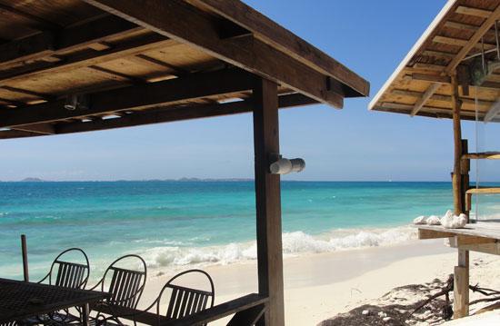 Anguilla beach bars, The Dune Preserve, Bankie Banx