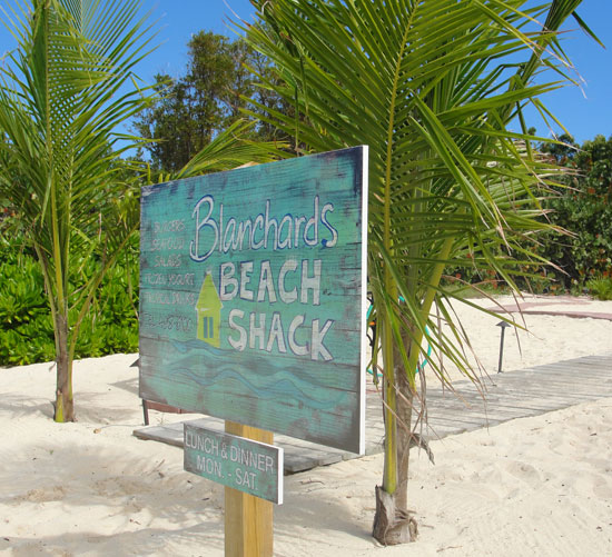 Blanchards Beach Shack, Meads Bay, lunch in Anguilla, Anguilla beach restaurant