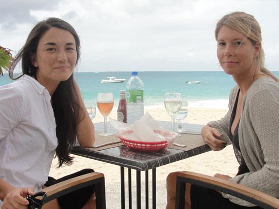 Straw Hat, Meads Bay, Nori Evoy, Kristin Bourne, lunch in Anguilla, Anguilla beach restaurant