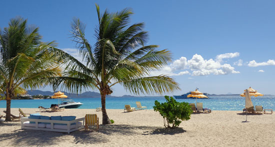 The Place Rendezvous Bay, Anguilla beach restaurants