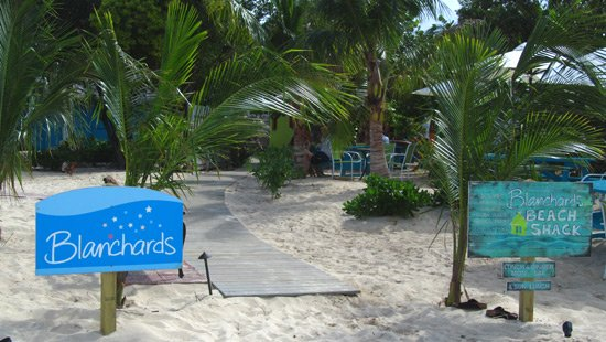 Anguilla beaches, Meads Bay, Blanchards Restaurant
