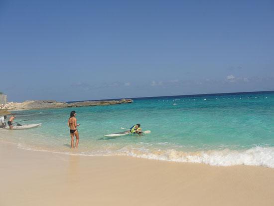 Anguilla beaches, Sargassum seaweed, Meads Bay, Nori, Yuki, SUP