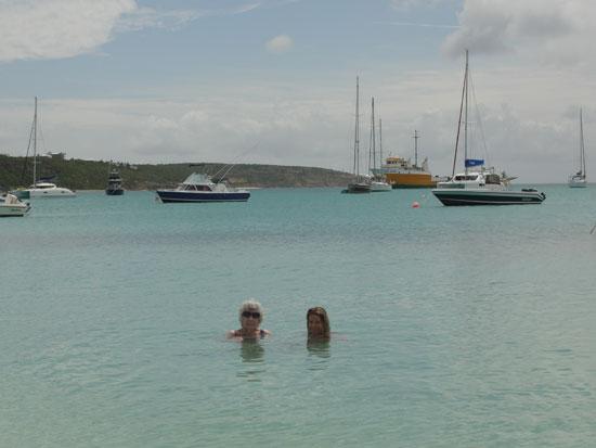 Anguilla beaches, Sandy Ground, boats, water