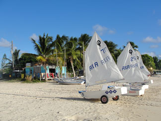 Anguilla beaches, Sandy Ground, Anguilla Sailing Association, Anguilla Youth Sailing School
