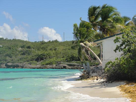 Anguilla beach, Upper Shoal Bay, Malakh Day Spa