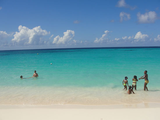 Anguilla beaches, Shoal Bay, sea