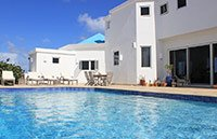 anguilla beaches villa pool view