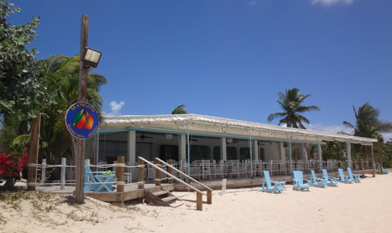 the lovely mangos restaurant on barnes bay