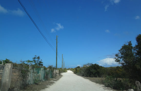 road to nat's in anguilla
