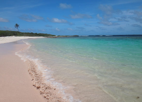 beautiful Savannah Bay in anguilla