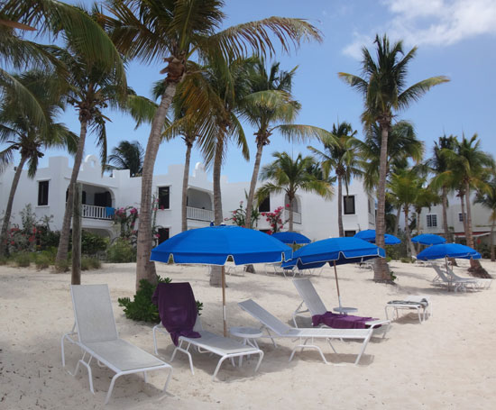 beautiful blue waters apartments on the beach