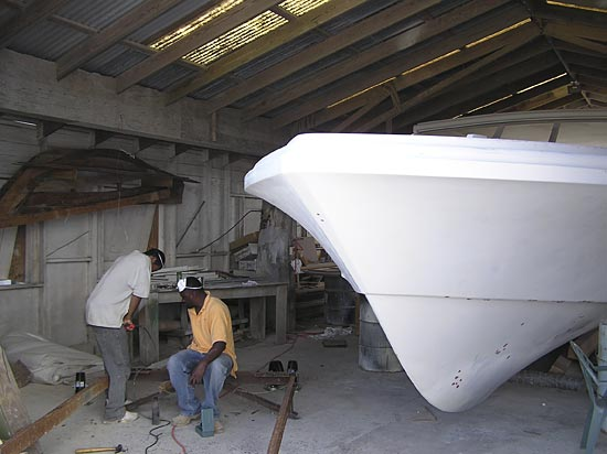 Anguilla boats